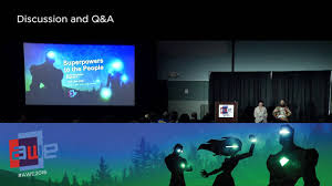 Storytelling in VR  Augmented World Expo (AWE) 2016